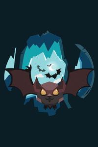 720x1280 Bat Vector Illustration