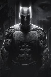 Batfleck Darkness 4k