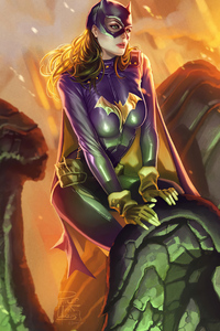 2160x3840 Batgirl 2020 Art