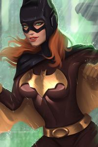 320x568 Batgirl 4k Artwork