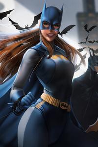 1242x2688 Batgirl 4k New Artworks