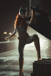 Batgirl Cosplay Art 4k