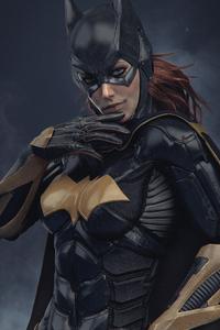 Batgirl Digital Art CGI