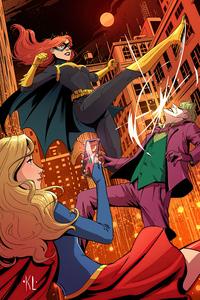 1125x2436 Batgirl Revenge 4k