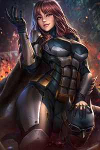 Batgirl Tactical Suit