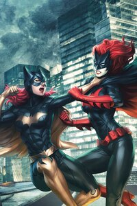 Batgirl Vs Batwoman Fight