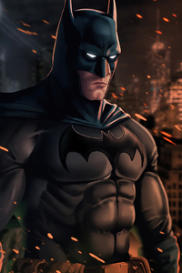 800x1280 Batman 2020 New Artwork 4k