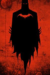 Batman 2020 Red Background