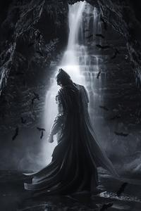 320x480 Batman 4k Darkknight