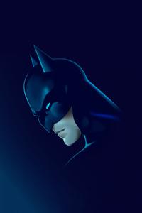 320x480 Batman 4k Minimal 2020