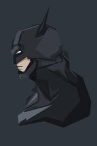 320x480 Batman 4k Minimal