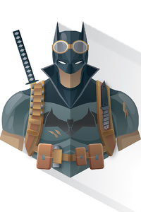 Batman 4k Minimalism 2020