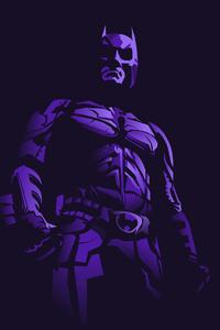 Batman 4k Minimalism Art