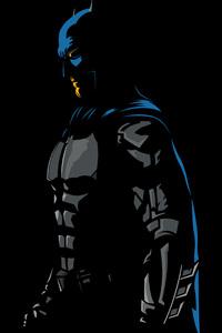 Batman 4k Minimalism Artwork