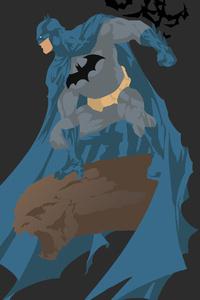 Batman 4k Minimalism