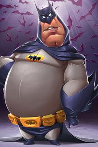 800x1280 Batman 4k Sketchart