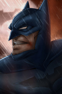 1080x2280 Batman 4k2020 Artwork