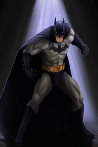 240x320 Batman 4knew Artwork