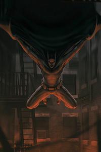 480x800 Batman 4knewartwork