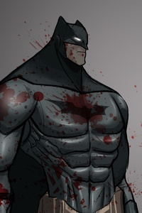 720x1280 Batman 5k Sketch Art