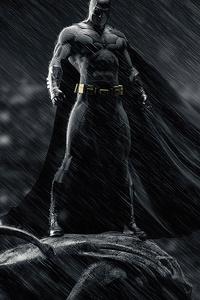 Batman Above The City