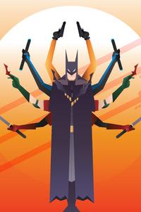 540x960 Batman All Guns And Sword