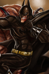 Batman And Bane4k Art