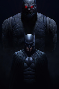 1080x1920 Batman And Darkseid