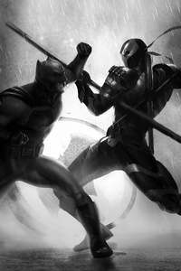 Batman And Deathstroke4k