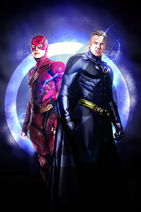 640x960 Batman And Flash New