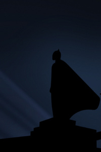 Batman And His Bat Signal