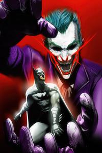 480x854 Batman And Joker 4k 2020