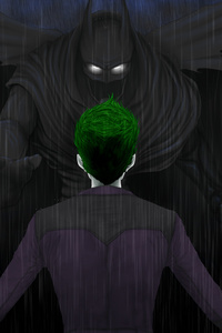 Batman And Joker Arts