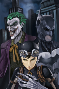Batman And Joker Artwork