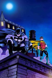 Batman And Robin Artwork