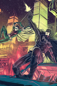 480x800 Batman And Robin Coming