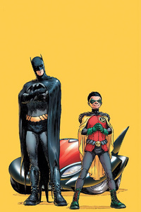 Batman And Robin Damian Wayne