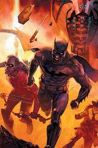 320x568 Batman And Robin Running