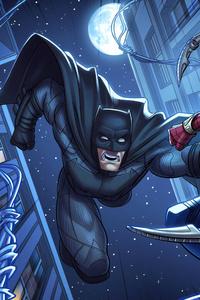 1080x1920 Batman And Spiderman