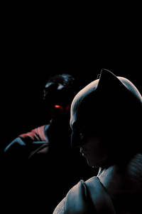 320x568 Batman And Superman 4k