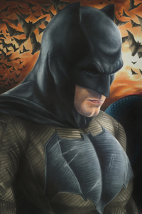 320x568 Batman And Superman Fanart