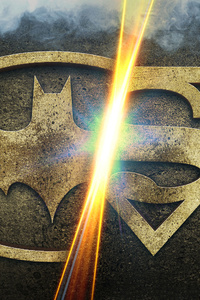 Batman And Superman Logo Who Will Win