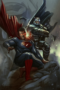Batman And Superman Newart