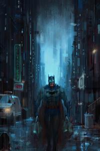 Batman And The Cat 4k