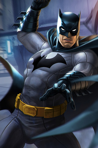 Batman And The Flash Dc Comic Art