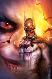 1125x2436 Batman And The Joker
