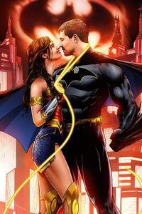 Batman And Wonder Woman Love Romance
