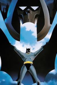 2160x3840 Batman Animated Movie Poster