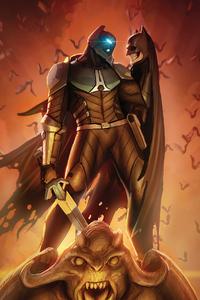 1280x2120 Batman Arkham 4k 2020