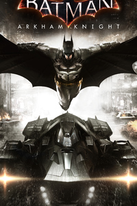 750x1334 Batman Arkham Knight Key Art 8k